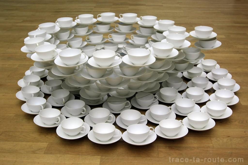 """""""Tassentasse"""" (1969/1996) Thomas BAYRLE, Musée d'Art Moderne de Francfort"""