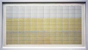 """One hundred years calendar - 20th Century, 24 845 days"" (2000) On KAWARA, Musée d'Art Moderne de Francfort"