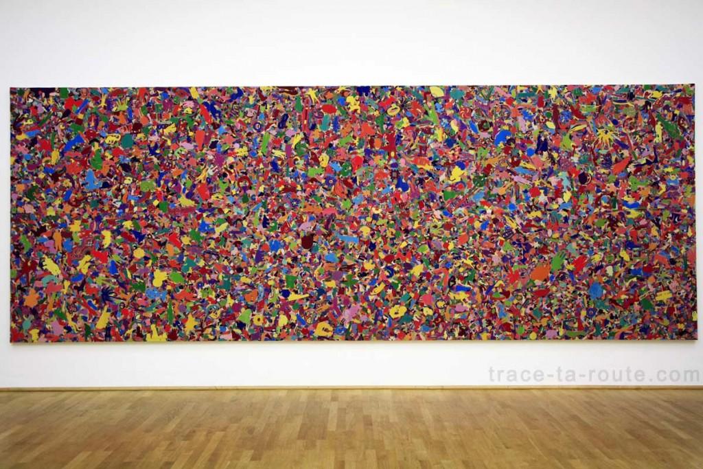 """""""Tutto"""" (1994) ALIGHIERO BOETTI, Musée d'Art Moderne de Francfort"""