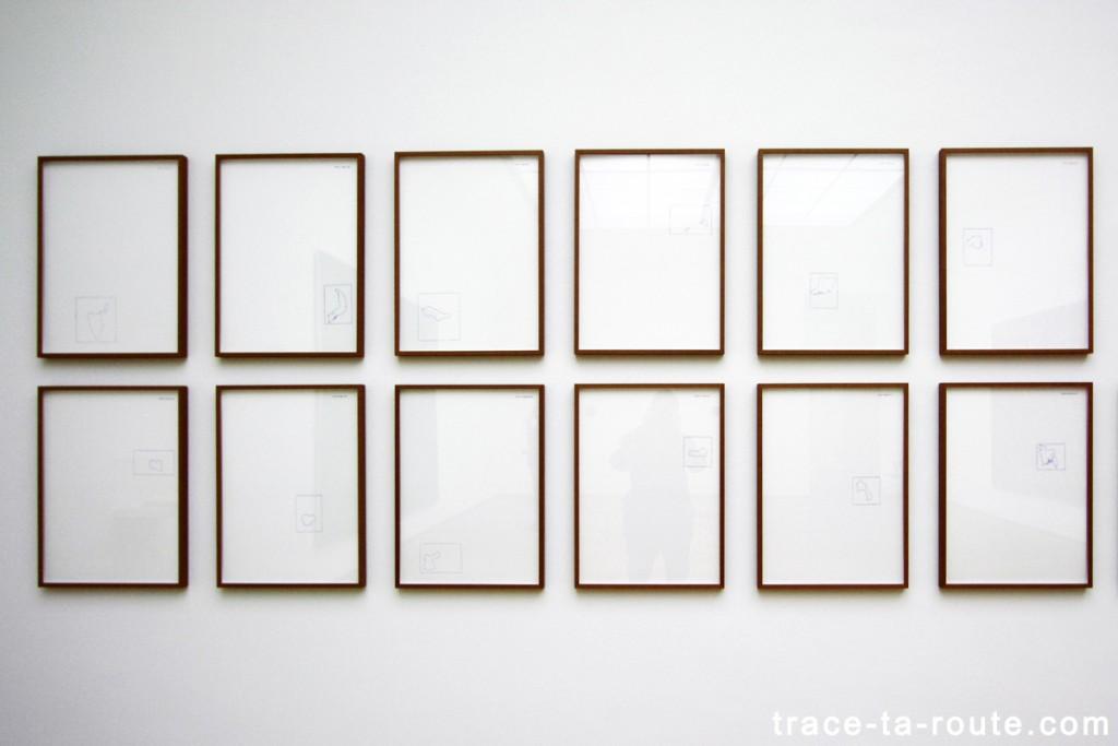 """Territori occupati"" (1971) ALIGHIERO BOETTI, Musée d'Art Moderne de Francfort"