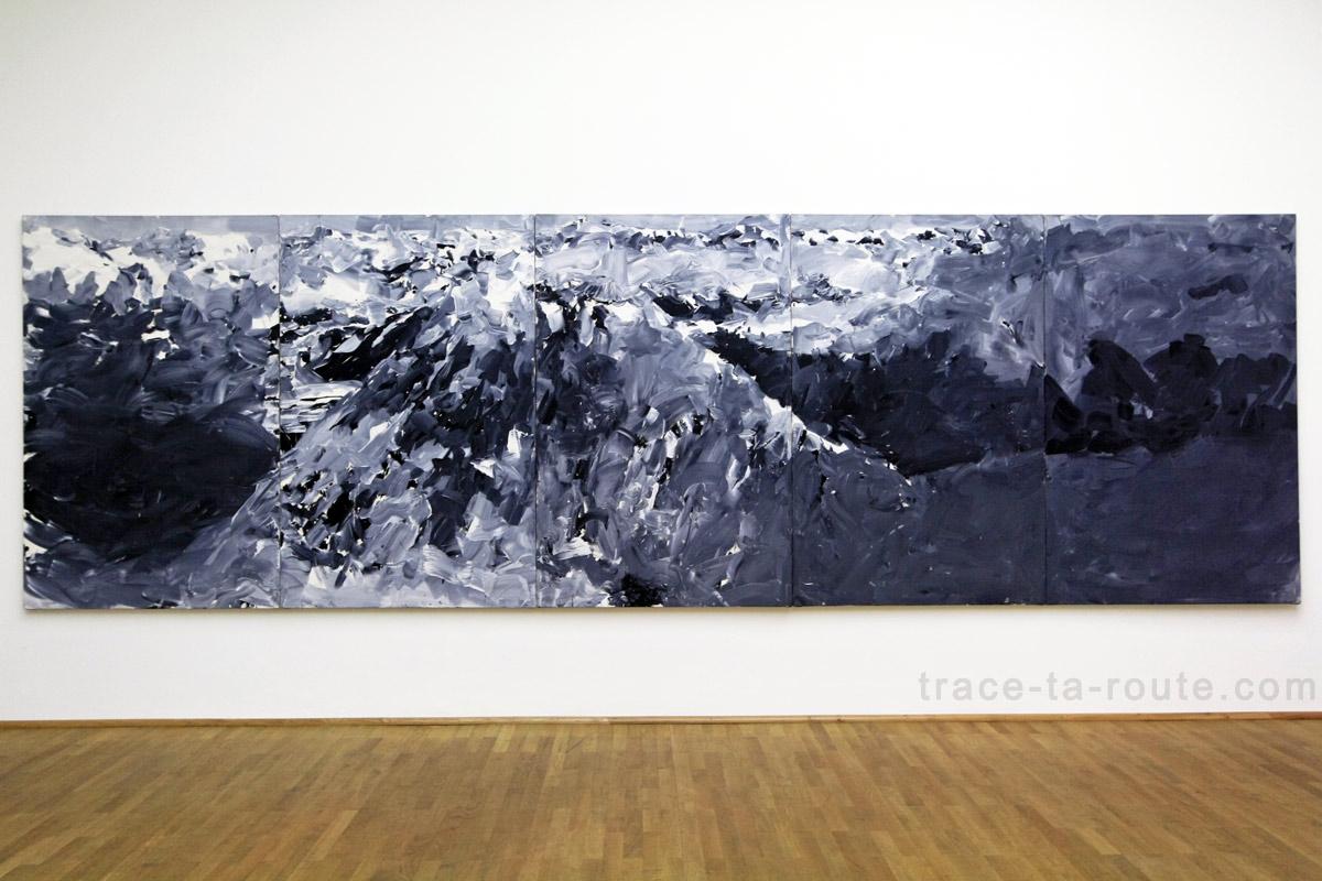 """""""Alpen"""" (1968) Gerhard RICHTER, Musée d'Art Moderne de Francfort"""