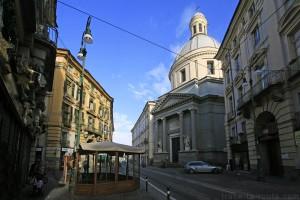 Basilica Mauriziana, via Milano à TURIN