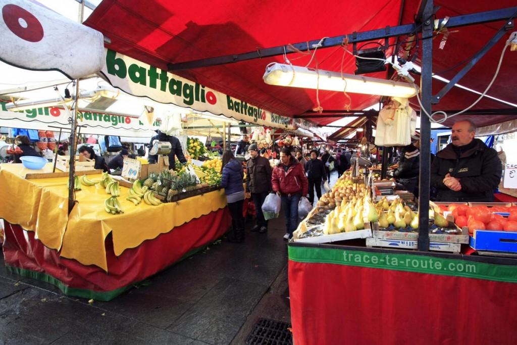 Le Marché de la Piazza della Repubblica de TURIN