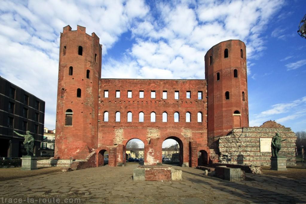 La Porta Palatina de TURIN