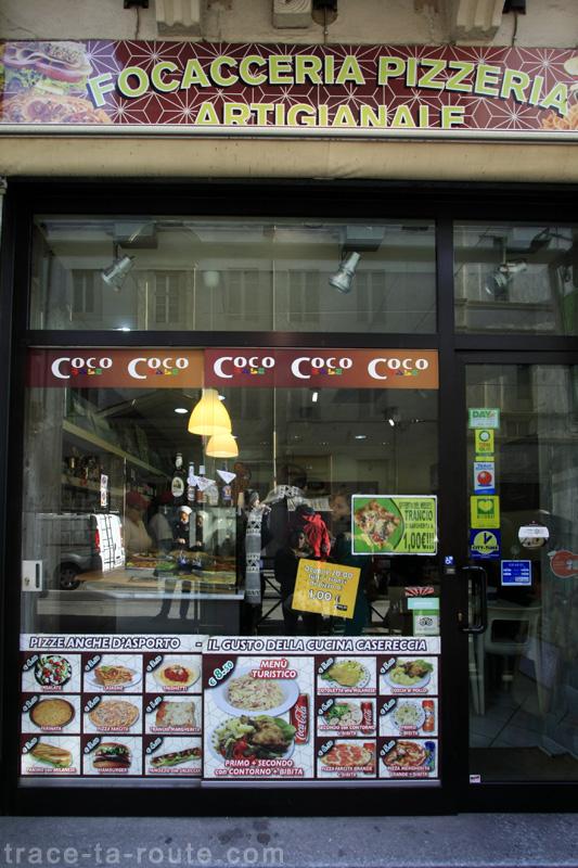Coco Babe, Pizzeria Snack à TURIN