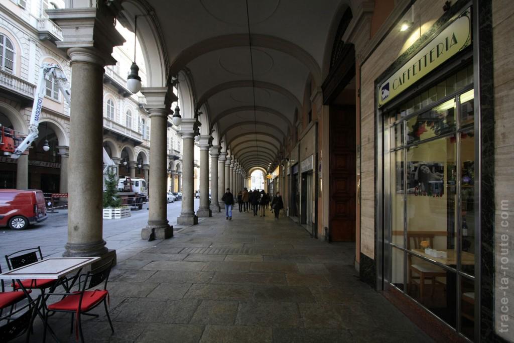 Arcades Via Garibaldi à TURIN