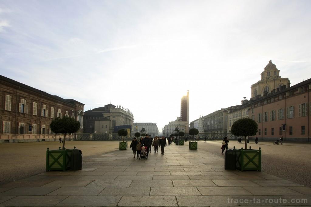 Cours du Palais Royal de TURIN - Piazza Castello Palazzo Reale Torino