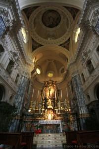 Choeur de l'église Chiesa della Santissima Annunziata de TURIN