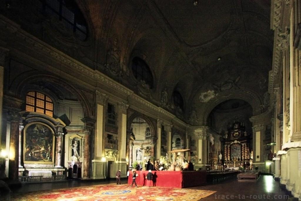 Intérieur de l'Eglise San Filippo Neri de Turin