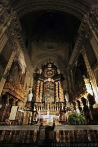 Choeur de l'Eglise San Filippo Neri de Turin