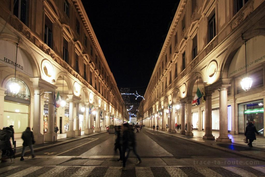 La Via Roma de TURIN