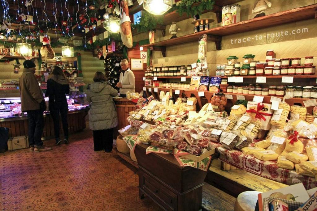 Epicerie fine italienne à Turin