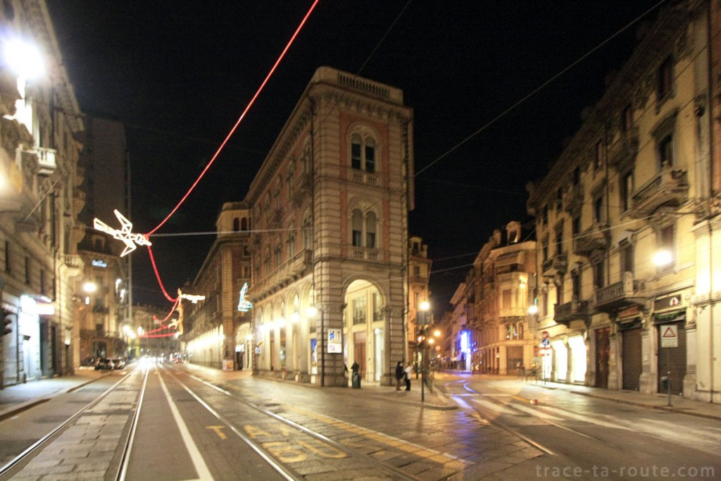 Via Pietro Micca et via Antonio Giuseppe Bertola à Turin