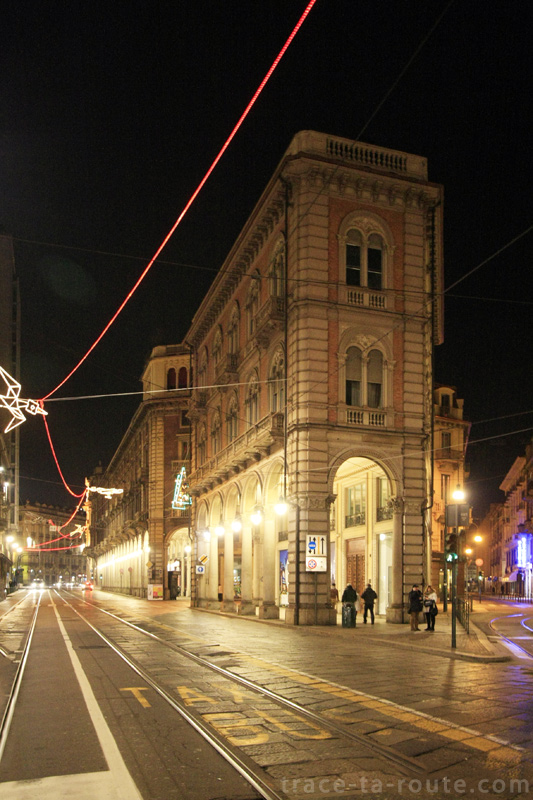 Bâtiment sur la via Pietro Micca à Turin