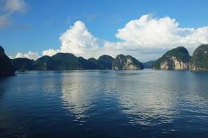 baie d'Ha Long par beau temps vietnam blog voyage