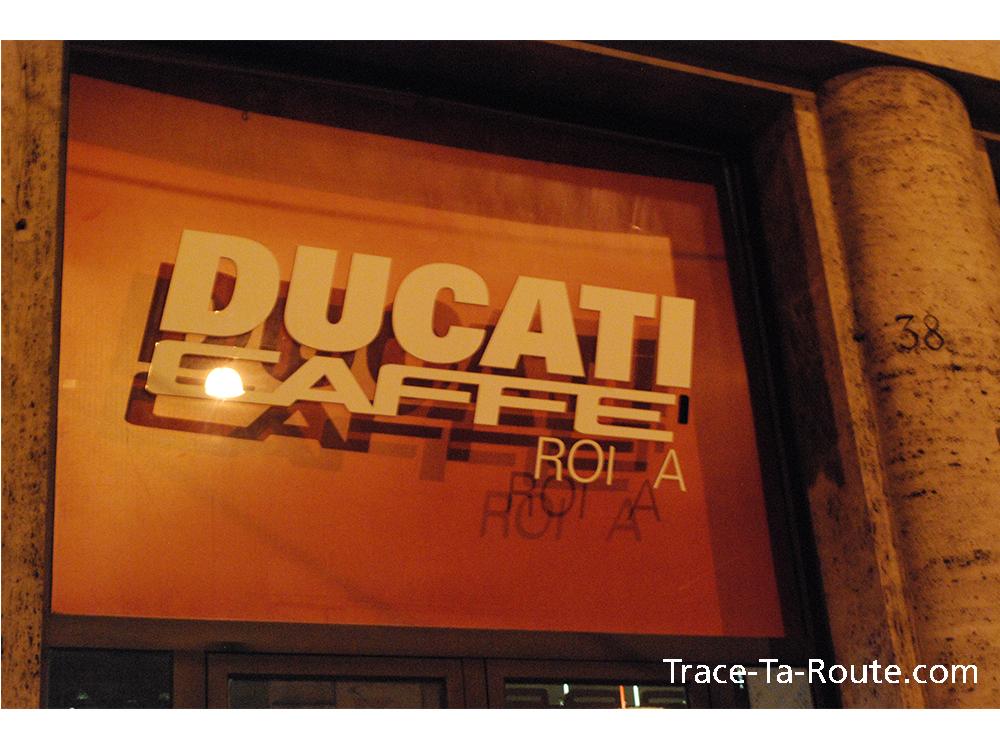 Ducati Caffè, Rome