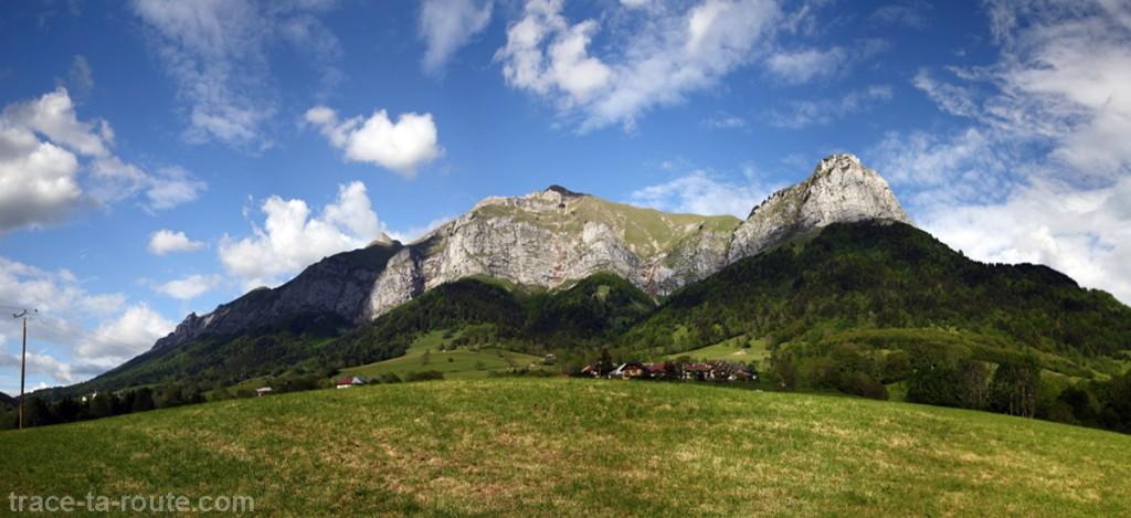 Le Trélod (Bauges) depuis le Cul-du-bois