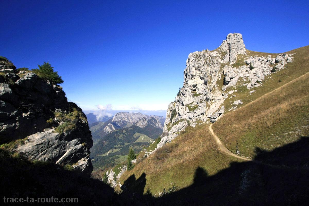 Grotte de la Dent des Portes, au Trélod (Bauges)