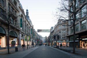 Meir, rue commerçante d'Anvers