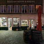 Bièrerie Belgian Beers & Brews sur la place Handschoenmarkt d'Anvers