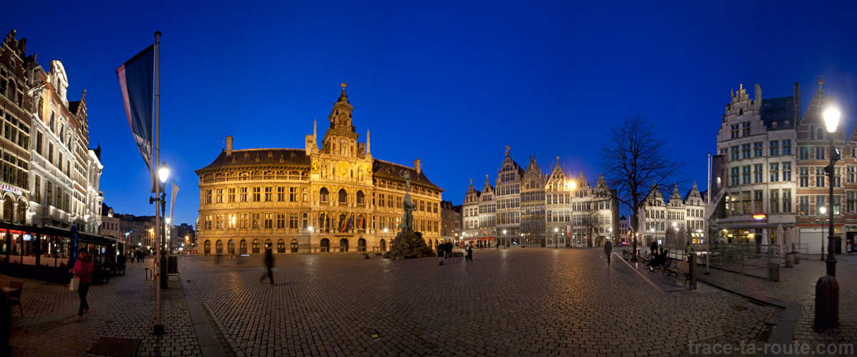 Grote Markt, Grand Place d'Anvers