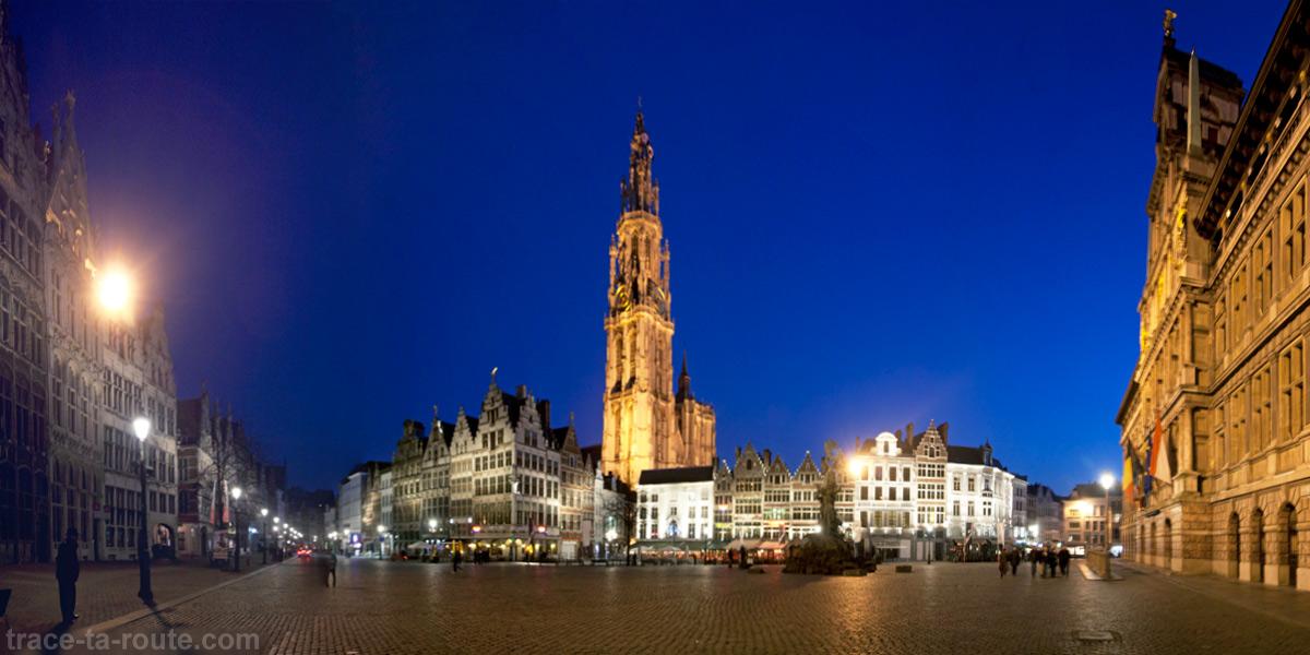 Grote Markt et Cathédrale Notre-Dame d'Anvers
