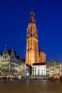 Cathédrale Notre-Dame d'Anvers et Grote Markt
