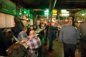 Danse du dimanche soir au Bar Den Engel d'Anvers