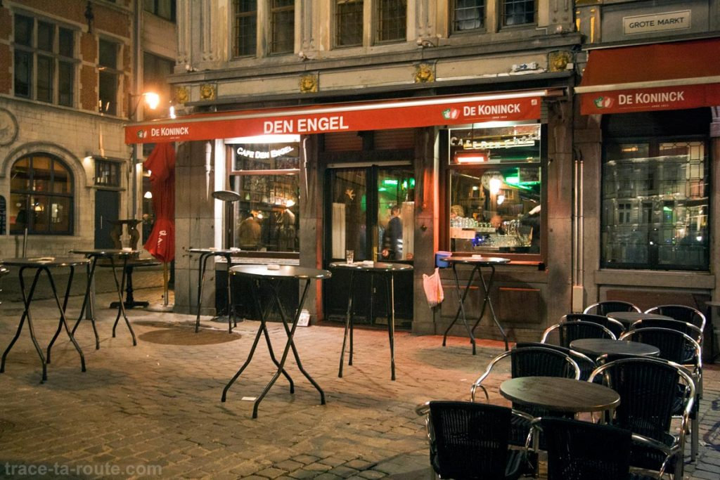 Bar Den Engel sur le Grand-Place Grote Markt d'Anvers