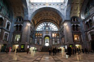 Hall de la Gare Centrale d'Anvers