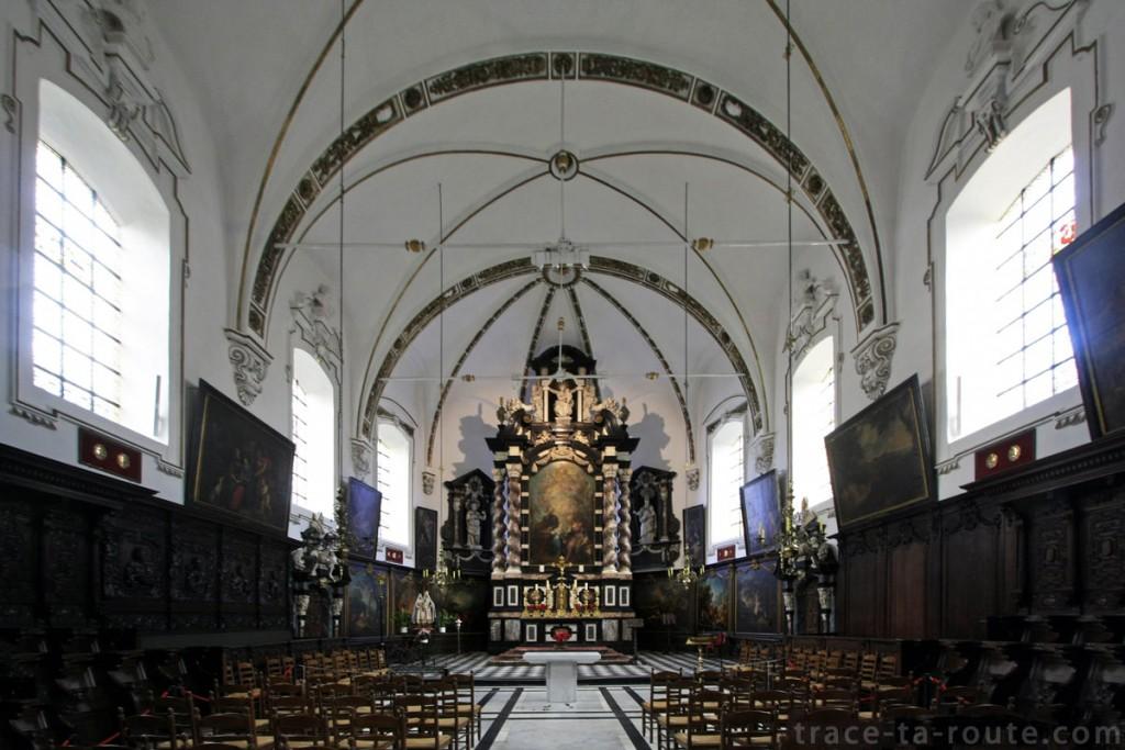 Chœur de l'Église Sainte-Anne de Bruges