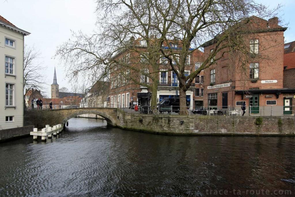Groenerei, un canal de Bruges