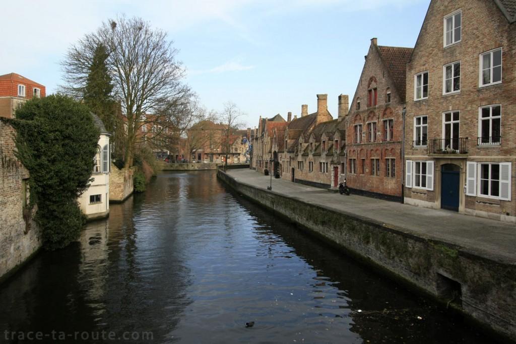 Groenerei, le canal vert de Bruges