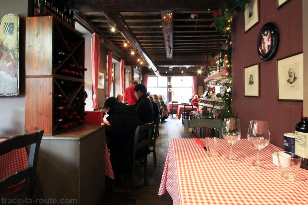 Brasserie Mozarthuys à Bruges