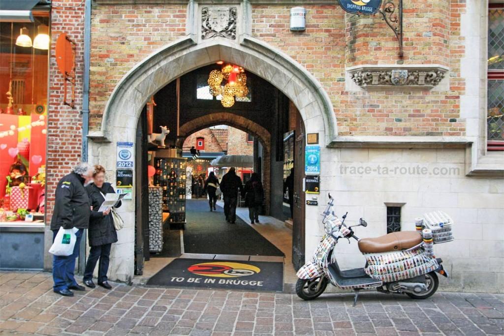 Bar à bières 2be, à Bruges