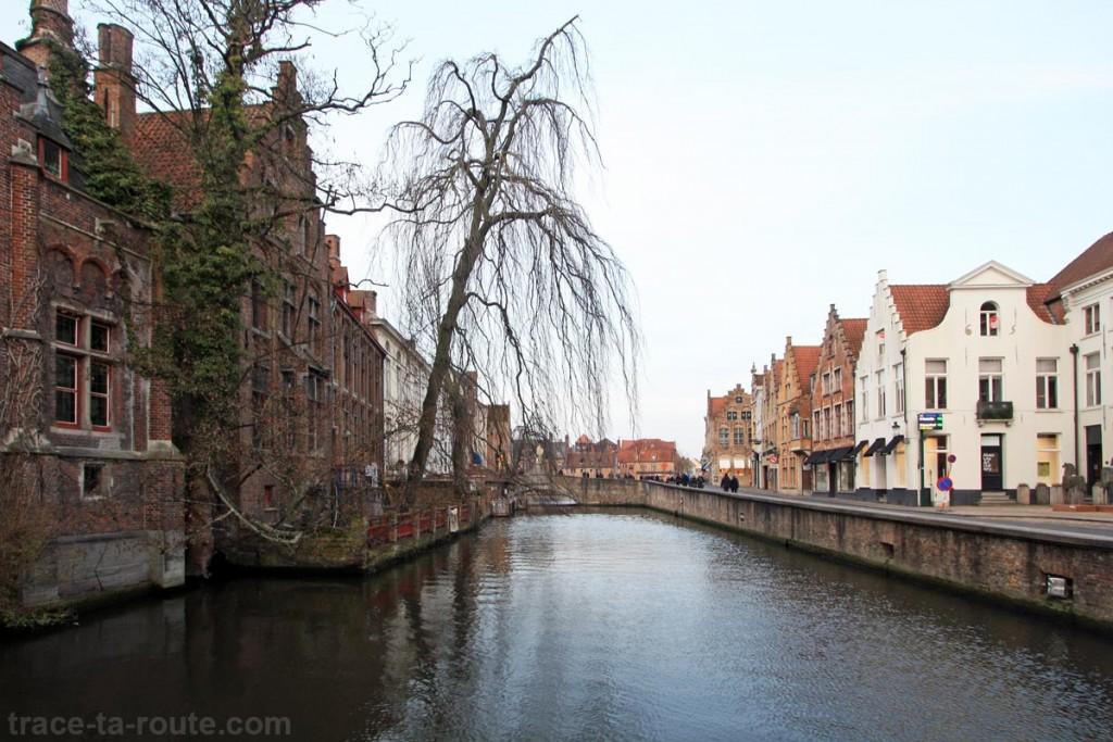 Dijver, canal de Bruges