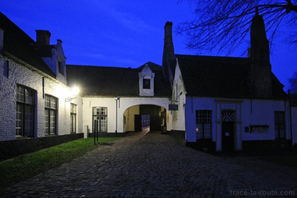 Begijnhuisje, béguinage de Bruges