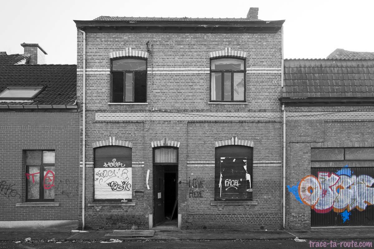 Urbex - Maison abandonnée de Doel Belgique