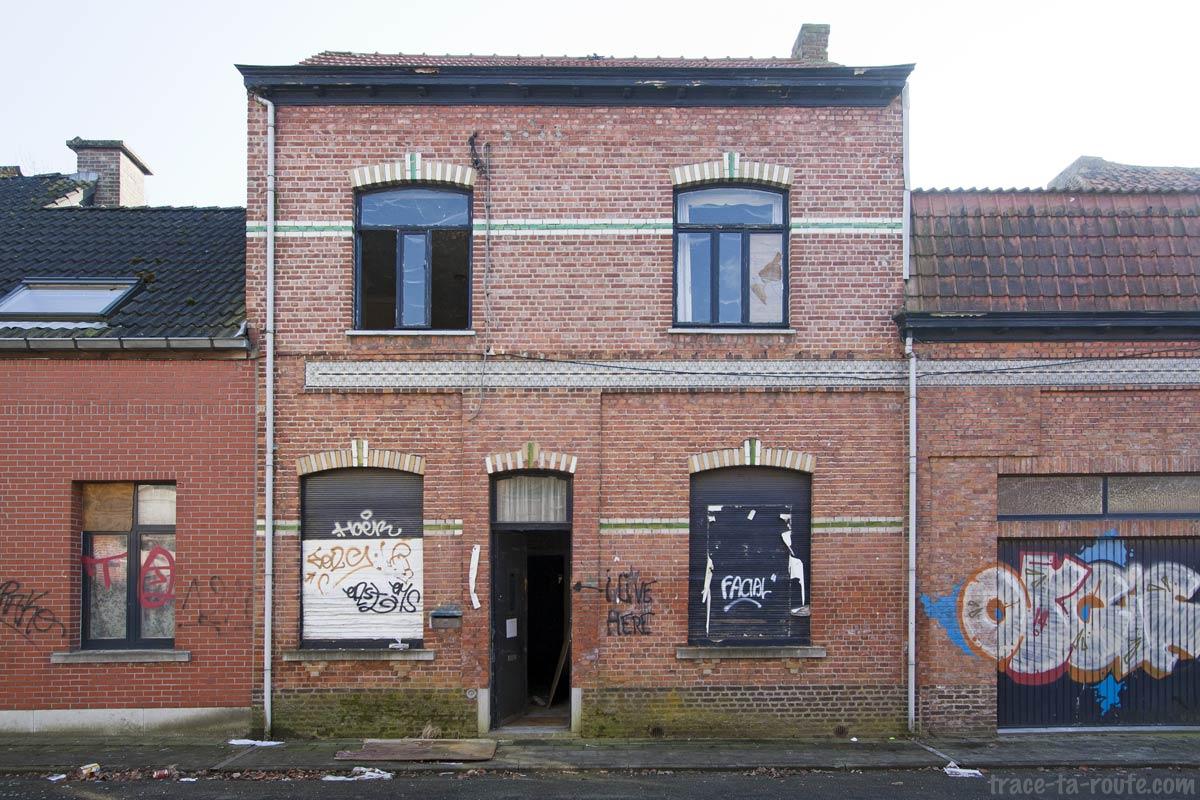 Maison abandonnée de Doel