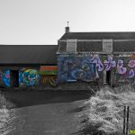 Urbex - Street Art sur une maison abandonnée de Doel Belgique © L'Oeil d'Édouard