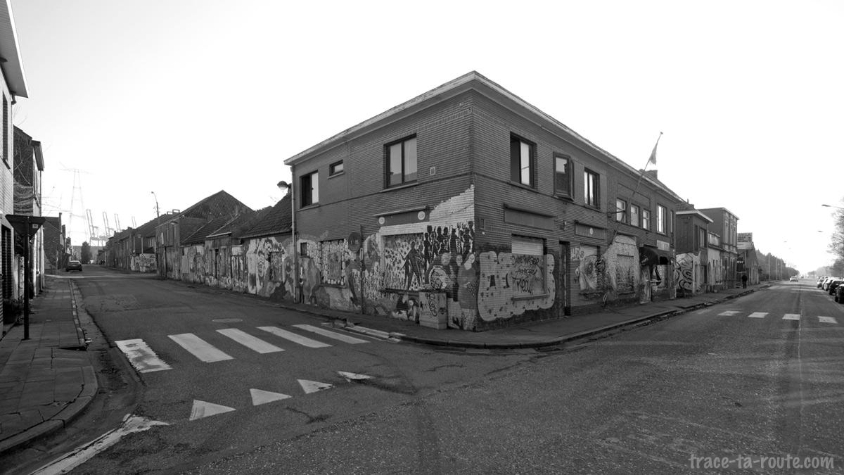 Urbex - Street Art dans les rues de Doel Belgique