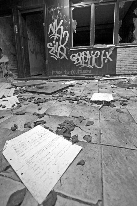Urbex - Interro abandonnée dans une maison de Doel