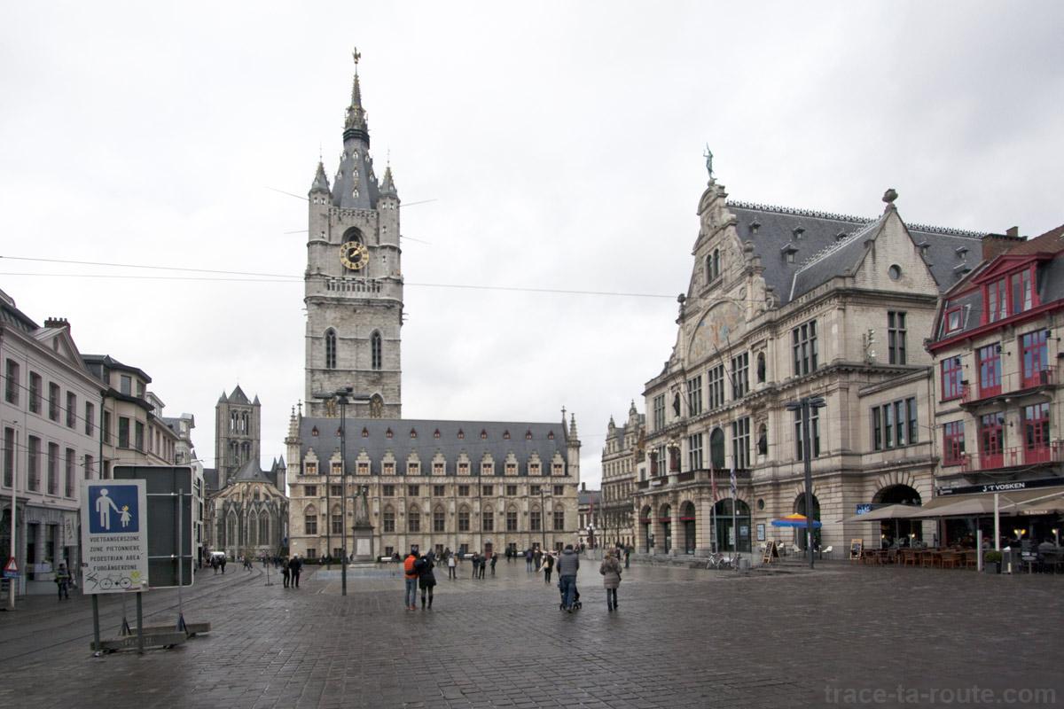 Le Beffroi de Gand, Belgique - Gent Belgium