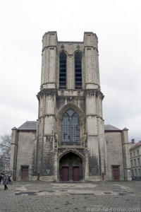 Tour de l'Église Saint-Michel de Gand, Belgique - Gent Belgium