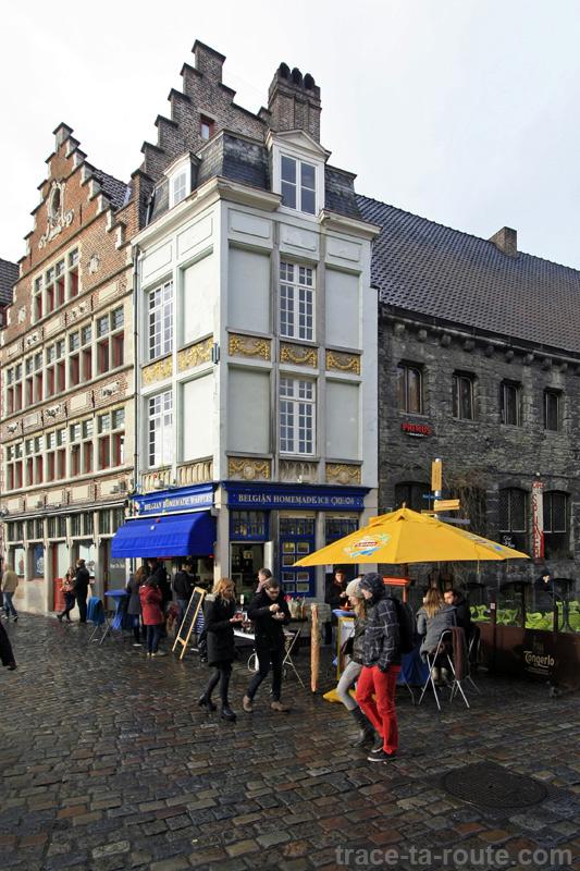 Belgian Homemade Waffles à Gand, Belgique - Gent Belgium
