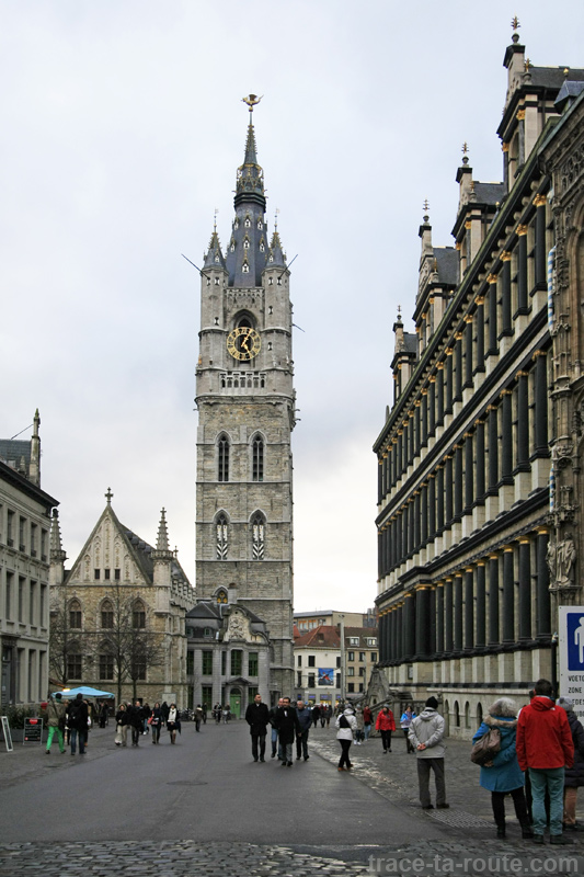 Beffroi de Gand, Belgique - Gent Belgium
