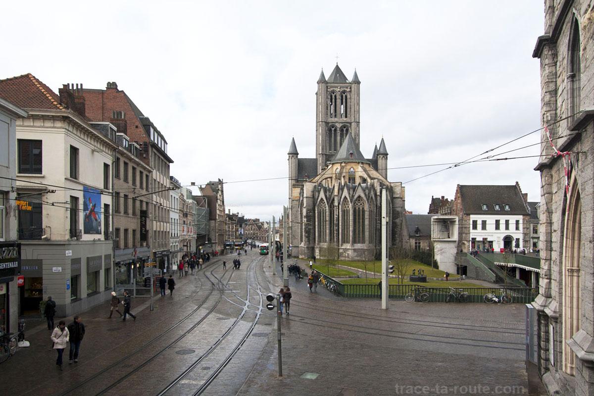 Cathédrale Saint-Nicolas de Gand, Belgique - Gent Belgium