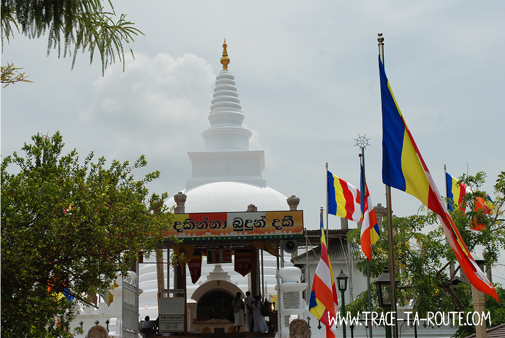 Stupa à Anuradhapura, Sri Lanka