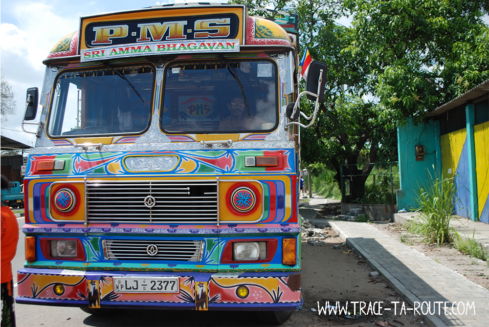 Camion à Dambulla, Sri Lanka