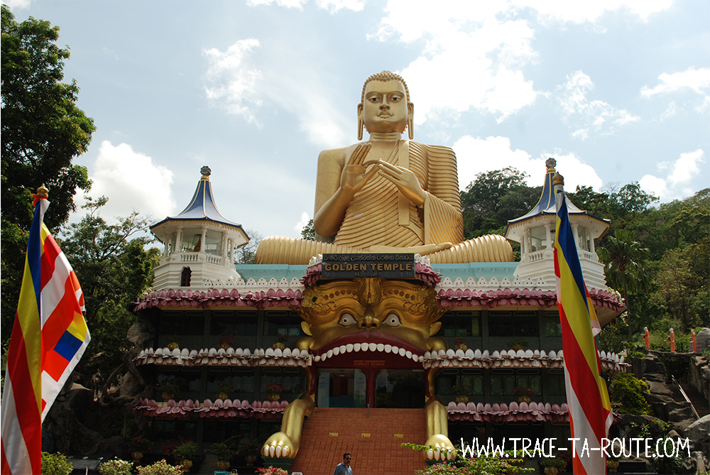 Golden Temple de Dambulla, Sri Lanka